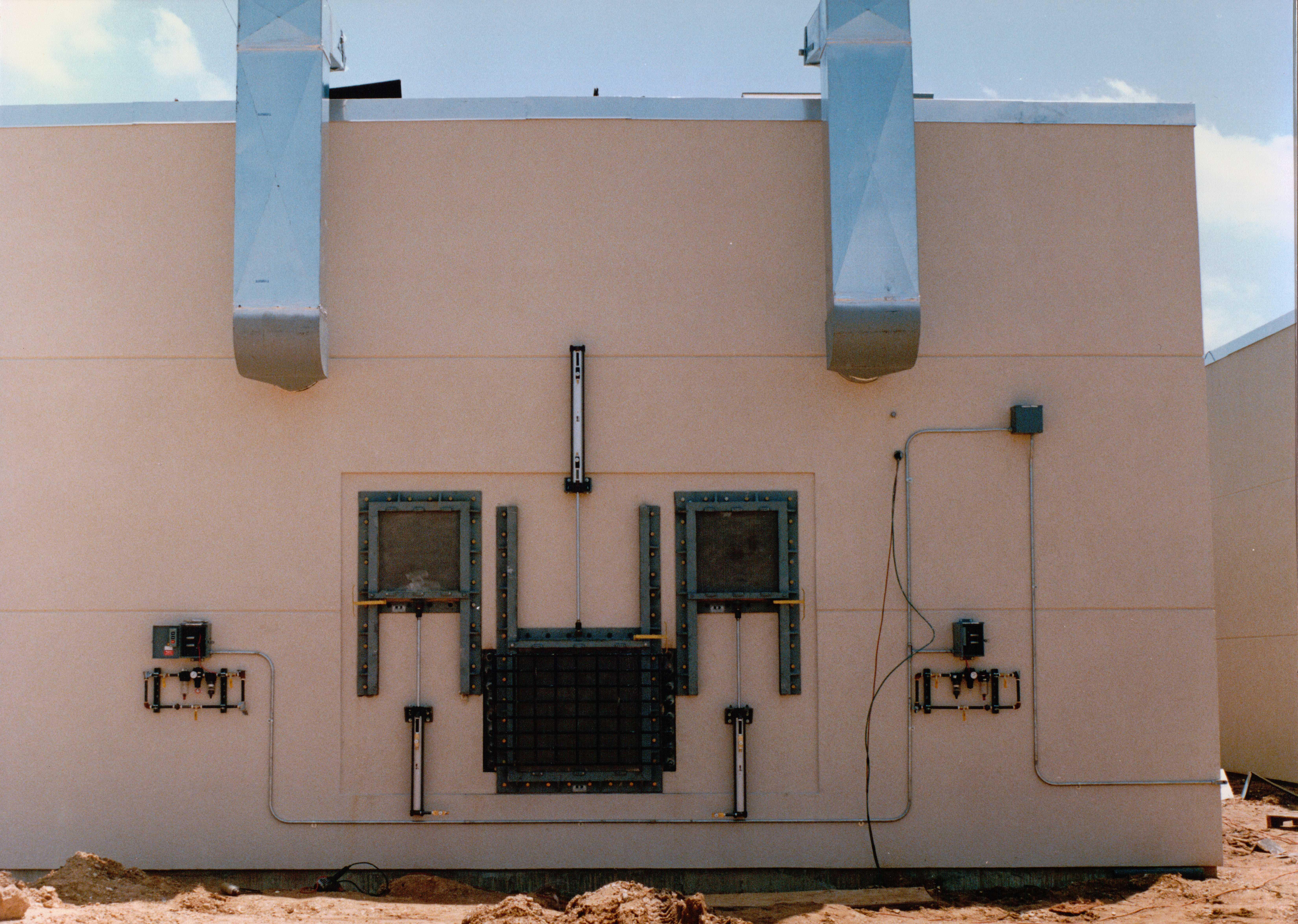 Doors For Manufacturing Facilites Electric Power Door
