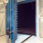 Single Swing Anechoic Shielding Door