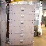 Single Swing Blast Door with Locking Pins