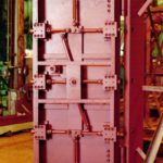 Interior View of  EPD High-range  Swinging Blast Door