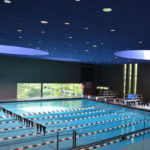 Interior view of Cranbrook Natatorium Cranbrook Educational Community - Bloomfield Hills, Michigan