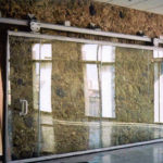 Top hung sliding 1-leaf glass - Federal Building, OK