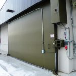 Top Hung Sliding Blast Door