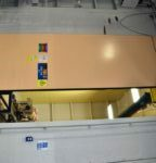 Top Hung Sliding Blast Door Test Facility