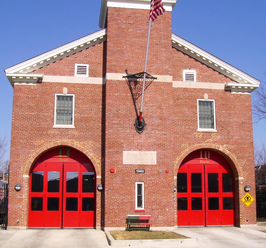 Overhead Door overhead door of washington dc photos : Fire Stations - Electric Power DoorElectric Power Door