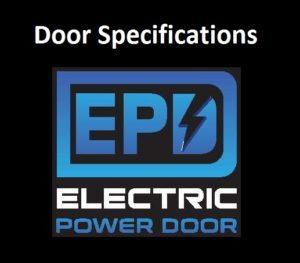 Door Specifications