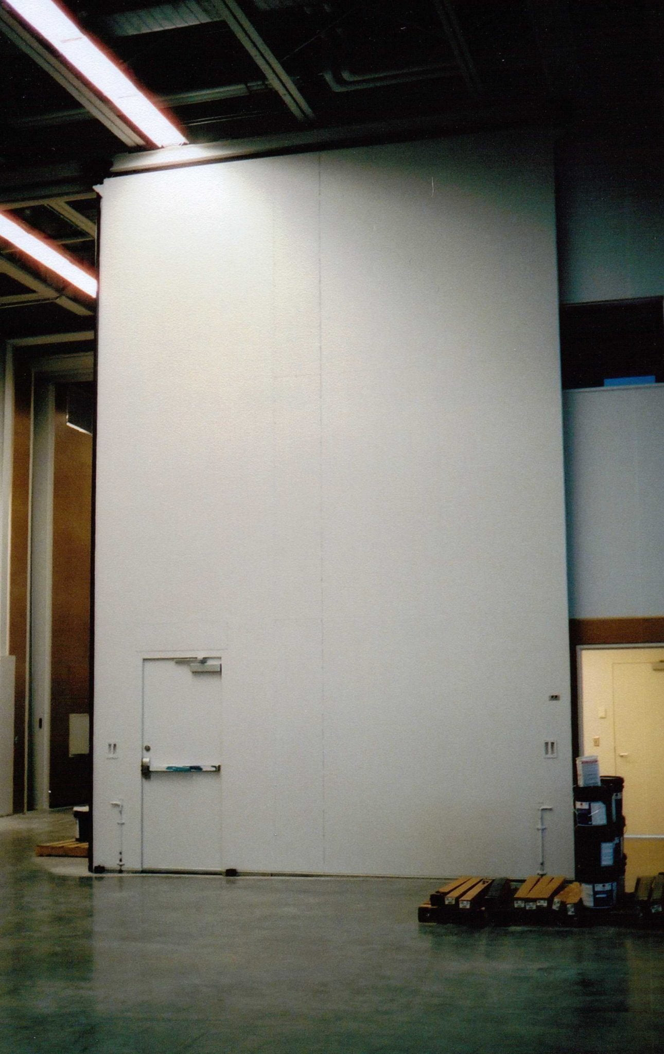 Top Hung Sliding 1 Leaf With Mandoor Guthrie Theatre Mn 2