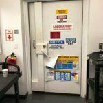 Blast Door Test Labratory