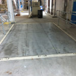 Floor Hatch Panel Swing Up