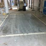Floor Hatch Panel Swing Up