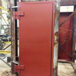 Single Swing Blast Door Factory Testing