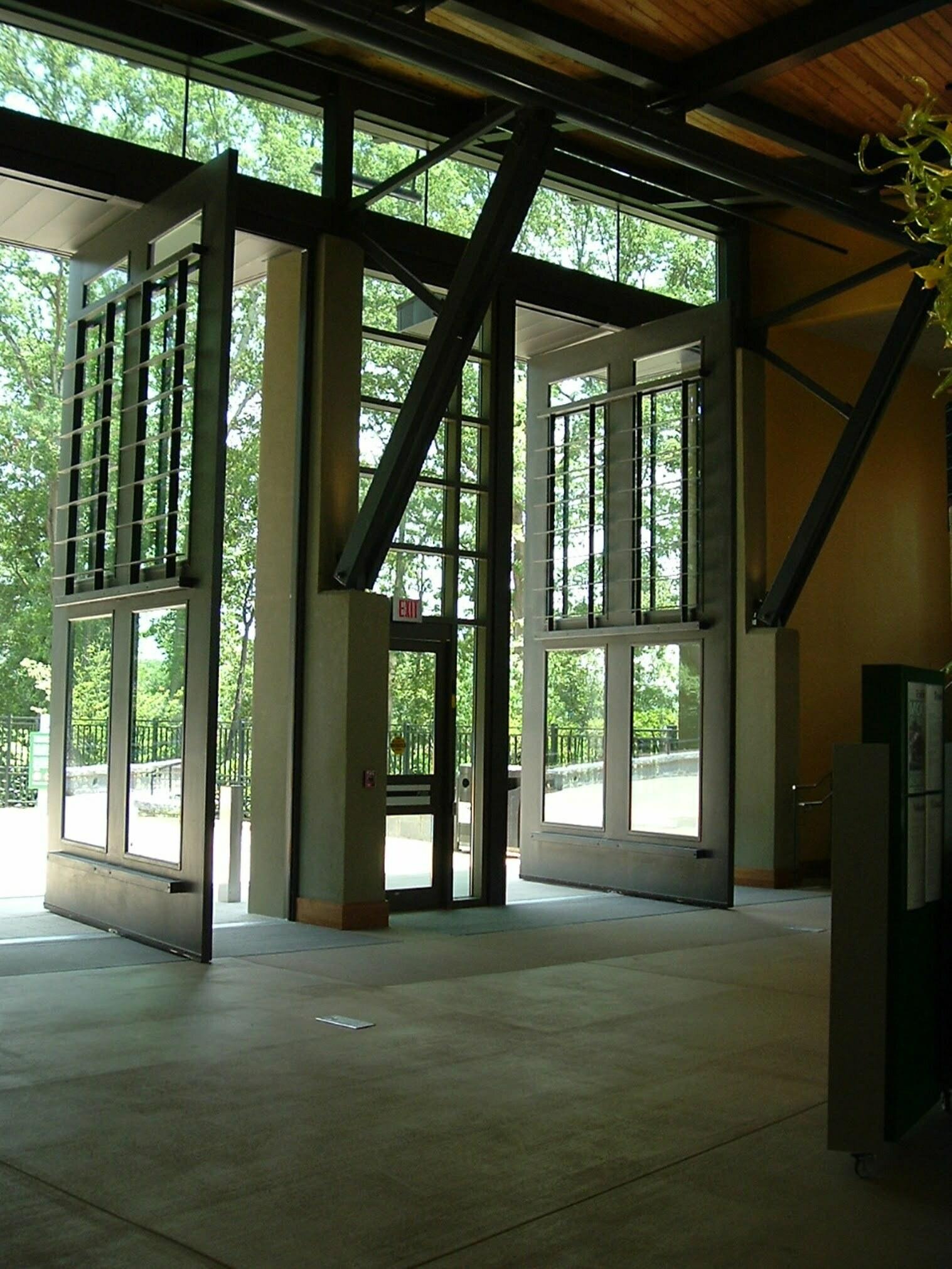 Custom Museum And Gallery Doors Electric Power Door