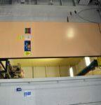 Top Hung Sliding Blast Door Test Facility
