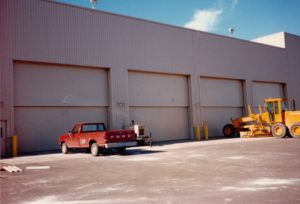 Vertical Lift Doors on the Sherburne Co. Generating Station in Becker, MN