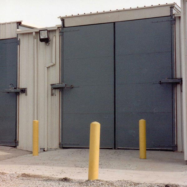 Waste Management Facility Doors