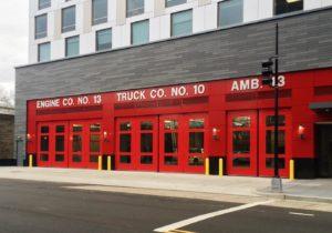 Fire Station Four Fold Doors