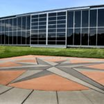 Fully Glazed Sliding Door - College Park Aerospace Museum, Maryland