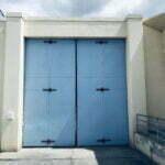 Model 46 Four Fold Door - Los Angeles County Probation
